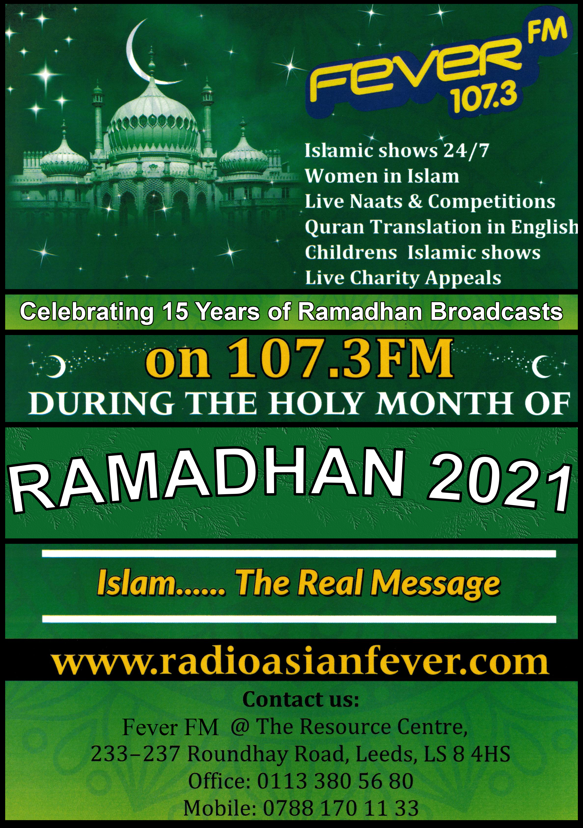 Join Fever FM for the Holy Month of Ramadhan